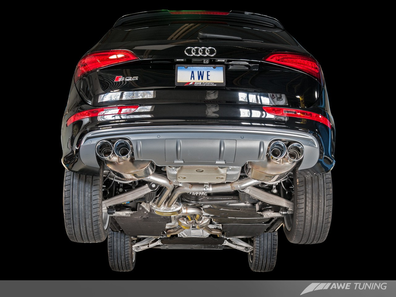Awe Tuning Audi Sq5 Touring Edition Exhaust