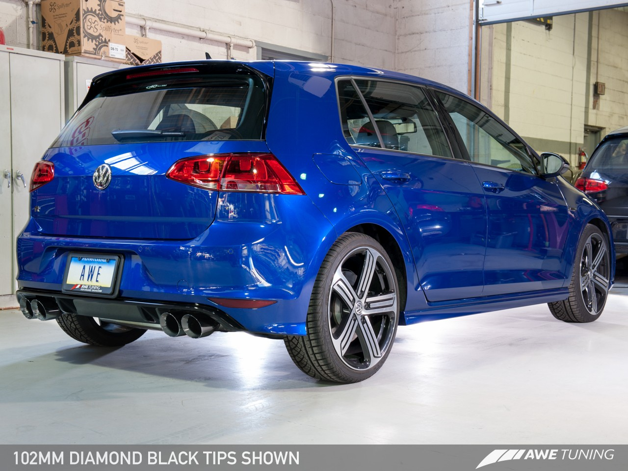 Awe Tuning Mk7 Golf R Switchpatch Exhaust