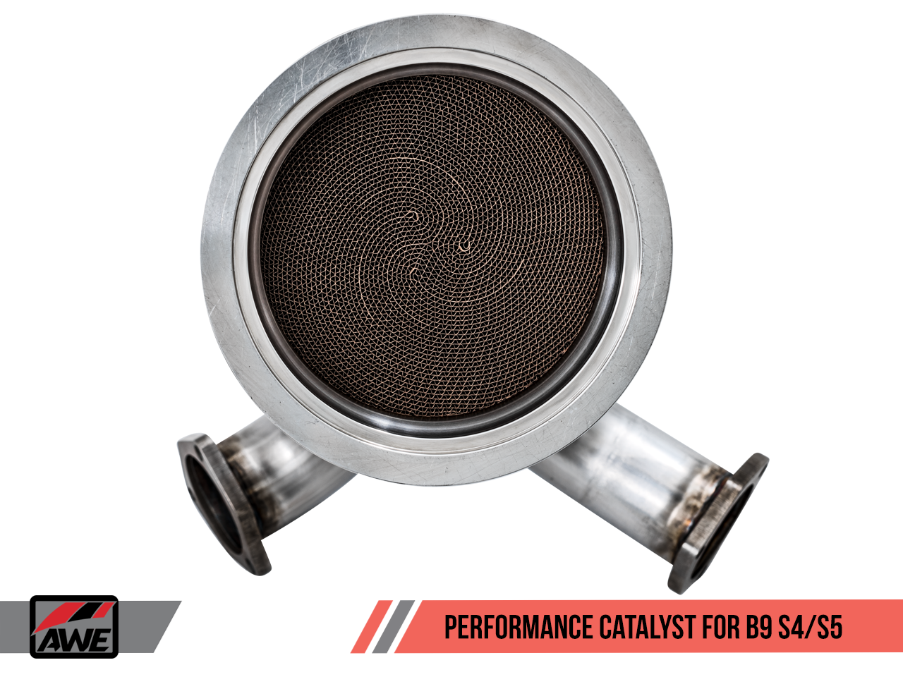 AWE Tuning Performance Catalyst for Audi B9 S4/S5 3 0T